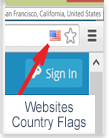 Google Chrome/Firefox Browser Extension. Display a country flag indicating the physical location of the websites you are visiting. Check you are visiting Websites for Viruses/Malware. Hosting Company Owner Information